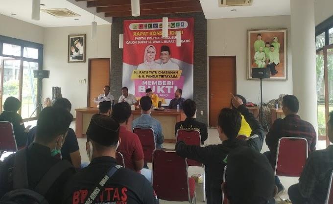 Rapatkan Barisan, Forum Relawan Tatu-Pandji Gelar Rapat dengan Tim Pemenangan