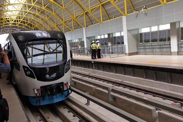 LRT Jabodebek ruas Cibubur-Cawang akan diuji coba minggu ini