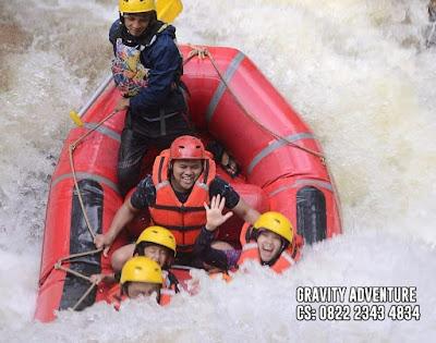 body rafting dekat jakarta