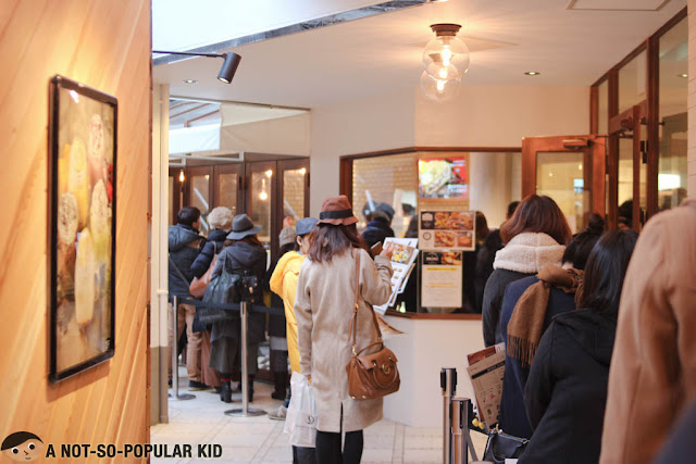 People Lining Up for Pablo Cheesecake in Japan