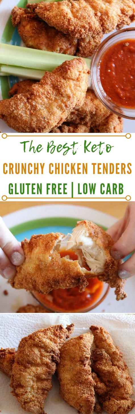 KETO CHICKEN TENDERS #diet #whole30 #healthy #paleo #chicken