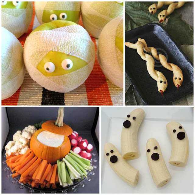 Healthy Halloween Snacks For Kids