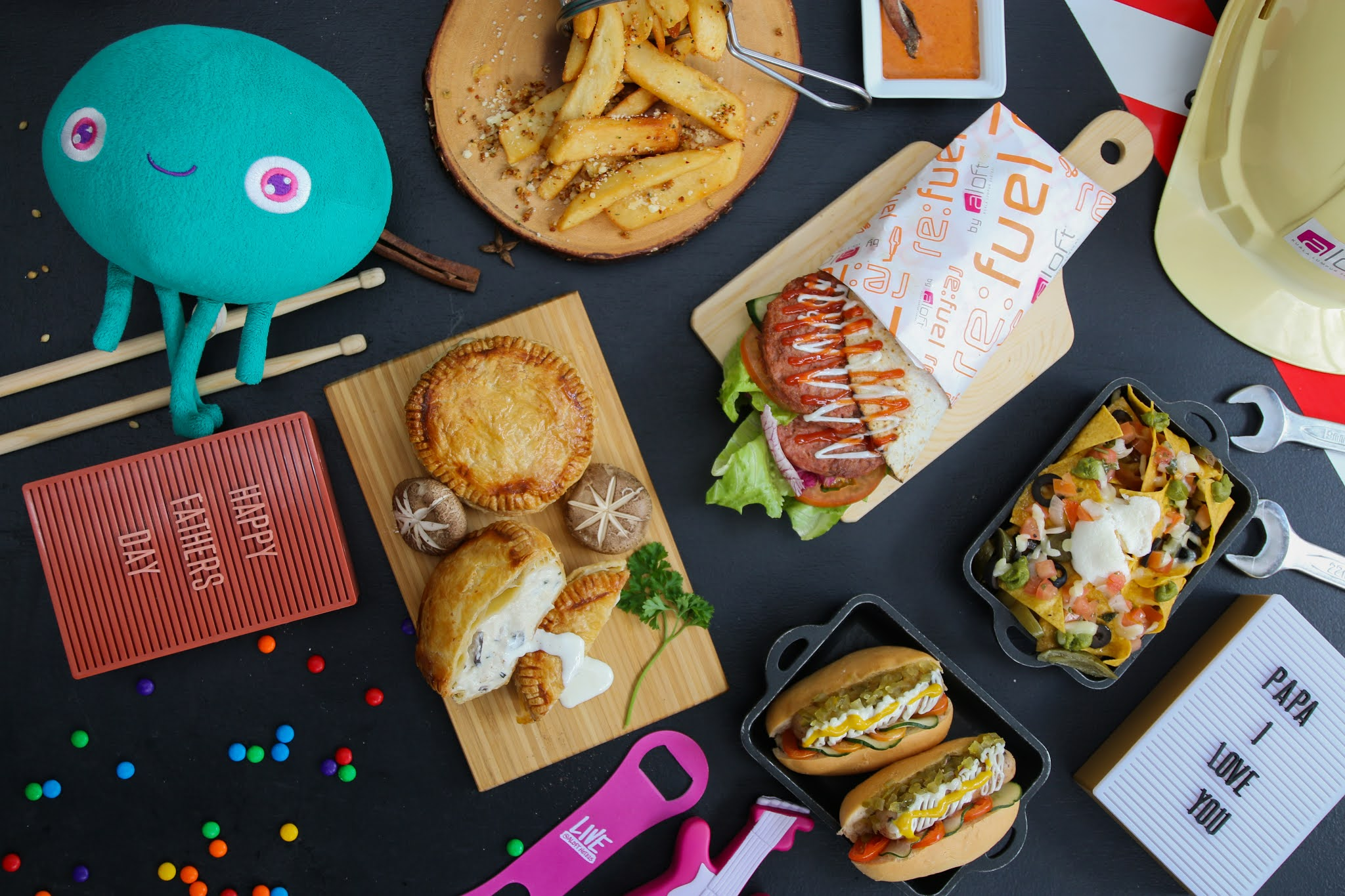aloft kuala lumpur sentral: feast on the daddy's platter this father's day
