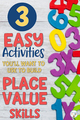 Place Value is integral in 1st, 2nd, and 3rd grades.  Place Value activities do not have to be difficult.  I have come up with 3 activities that you can start whole group and eventually to independent practice.  I hit 3-Digit place value activities throughout the entire year spiraling skills with worksheets for daily independent practice.  Check out my freebie printables included and make learning fun again {first grade, second grade, third grade}