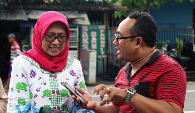Wakil Bupati Lumajang terpilih Ir. Indah Amperawati, M.Si