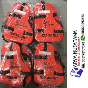 Jual Jaket Pelampung Life Jacket Work Vest di Makasar