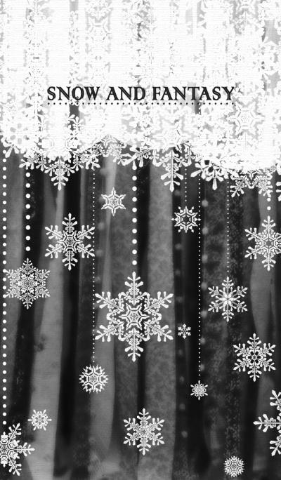 PUABI(Snow and Fantasy)(Black)