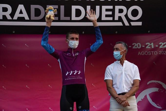 El Hot Tubes Development Cycling Team ganó la 1ª etapa de la V Vuelta Ciclista Junior a la Ribera del Duero