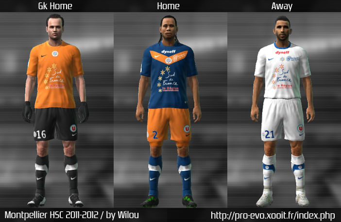 Montpellier 11/12 Kit Set by wilou