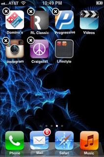 كيفية إخفاء التطبيقات على iPhoneوiPadوiPod Touch