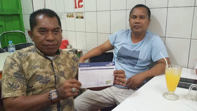Oknum Karyawan Bank Mandiri Diduga Salahgunakan Uang Nasabah