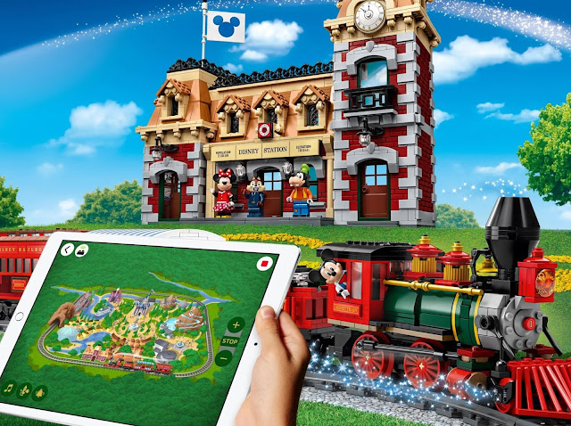 LEGO 71044 Disney Train and Station LEGO Powered Up App 迪士尼火車與車站