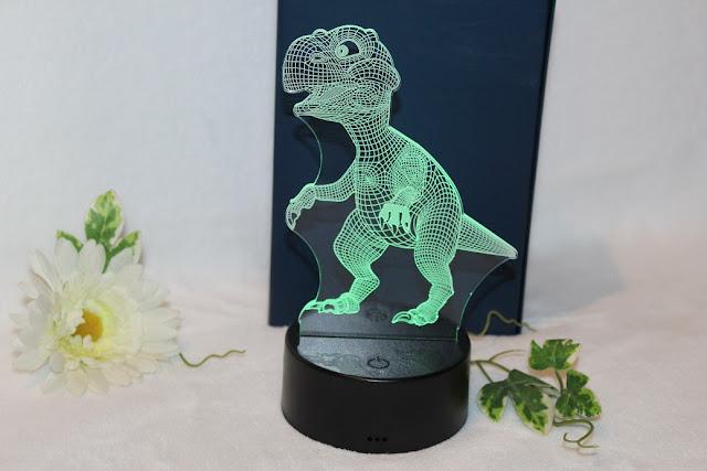 lampe LED pour enfant type dinosaure