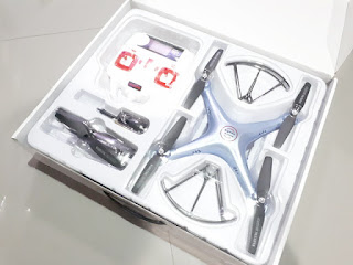 Drone Quadcopter Syma X5HW Wifi FPV Camera Altitude Hold New Sisa Stok