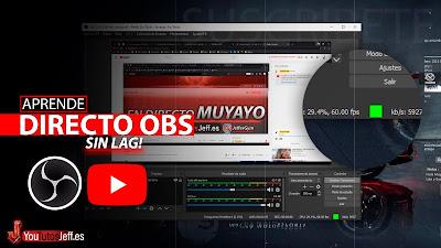 como hacer directo en youtube con obs studio