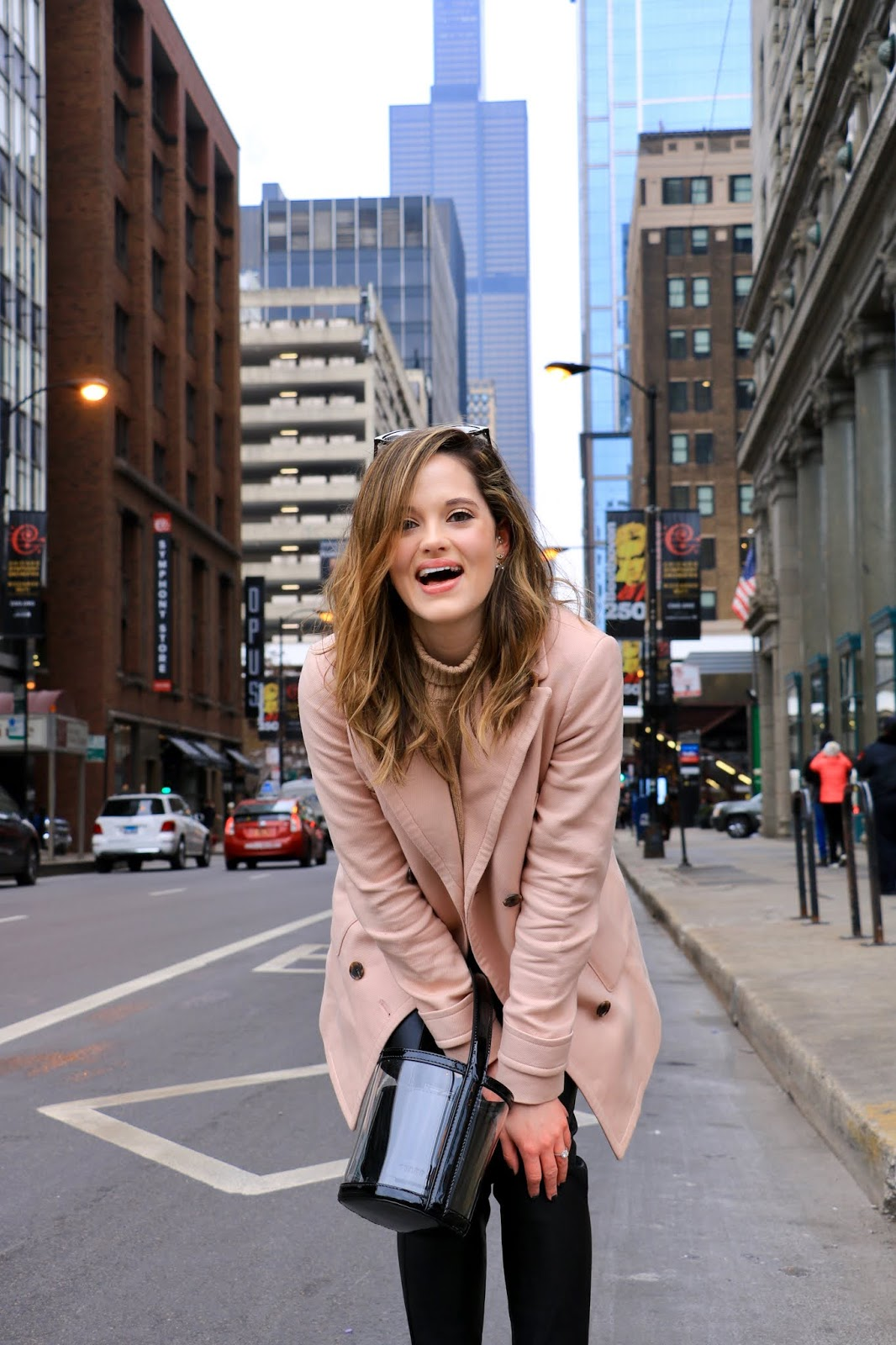 Chicago fashion blogger Kathleen Harper's street style.