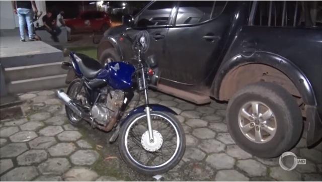 Mulher é presa no Bairro Trizidela ao tentar vender moto roubada