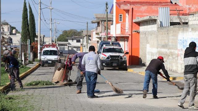 Meta del Ayuntamiento: 134 Jornadas Intensas de Trabajo en todo el municipio de Atlixco