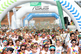 THE COLOR RUN BY UNITED COLORS OF BENETTON SAN SIRO -  © ANSA -
