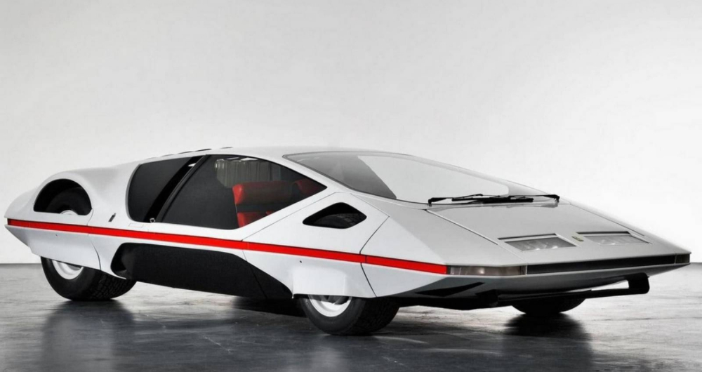 Photos of the Ultra Rare Ferrari 512S Modulo Concept of 1970