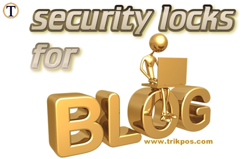 cara mengamankan blog