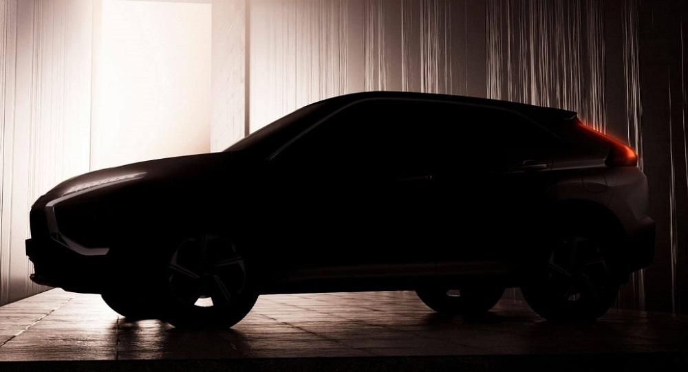 2021 Mitsubishi Eclipse Cross teased