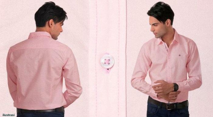 Contoh Model Baju Kemeja Pria Warna Peach Info Bogor
