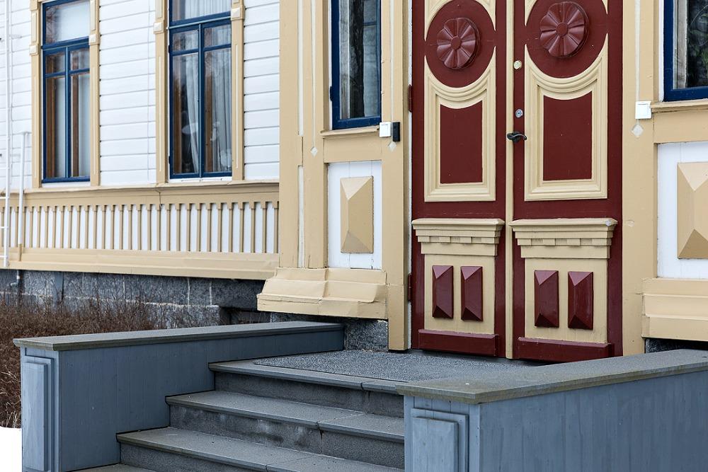 Noormarkku, Ahlströmin ruukki, arkkitehtuuri, suomalainen, Finnish design, architecture, talvi