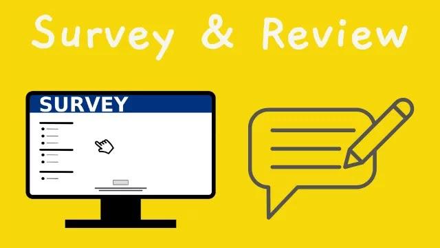 Online Survey & Review