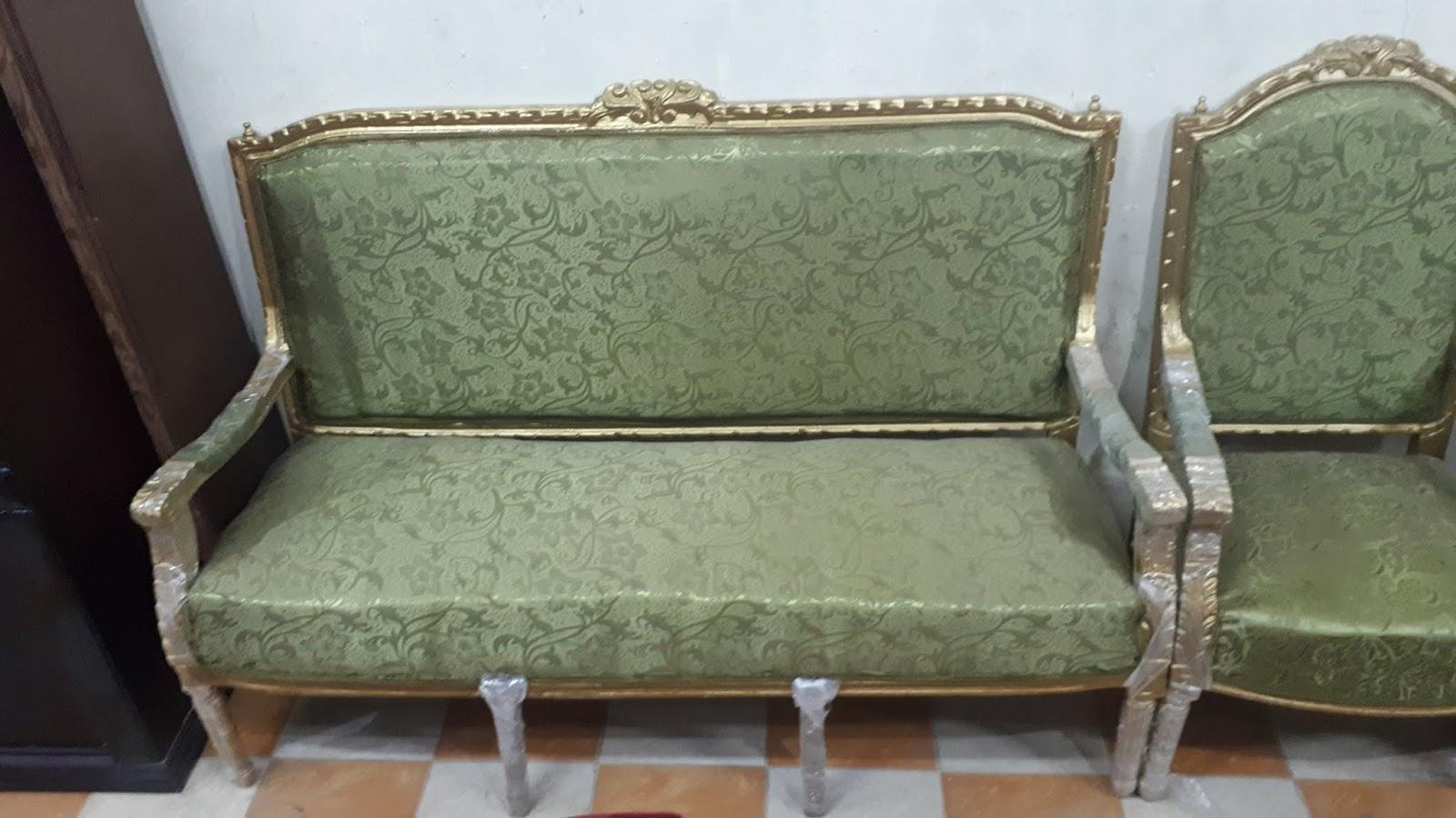 صالون مستعمل كنبة و 4 وكراسي وترابيزة بسعر رخيص
