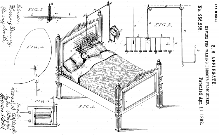 Figures 1-4, U.S. Patent Number 265,256