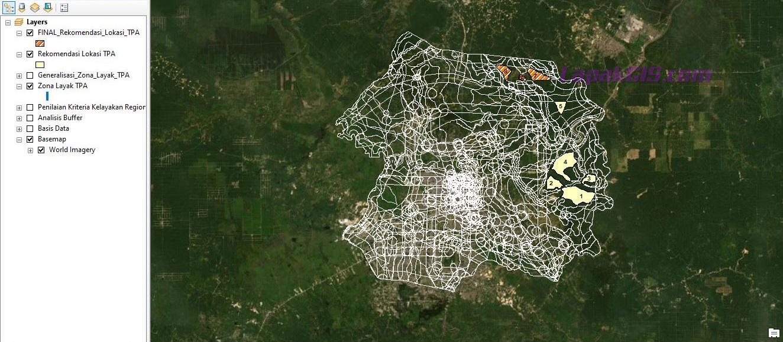Tutorial Penentuan Lokasi TPA Sampah Berbasis GIS