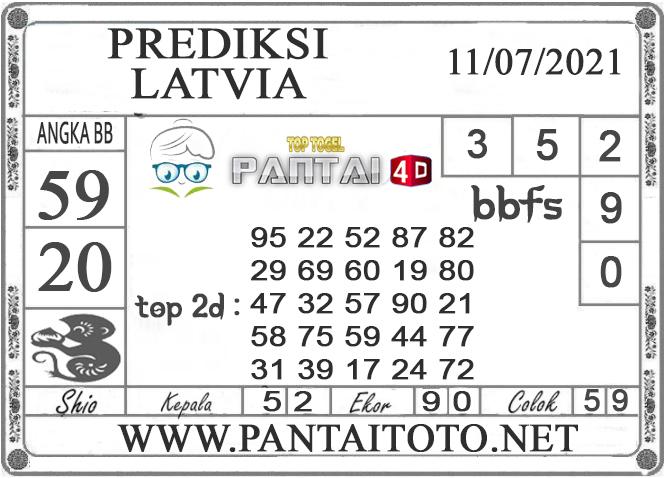 PREDIKSI TOGEL LATVIA PANTAI4D 11 JULI 2021