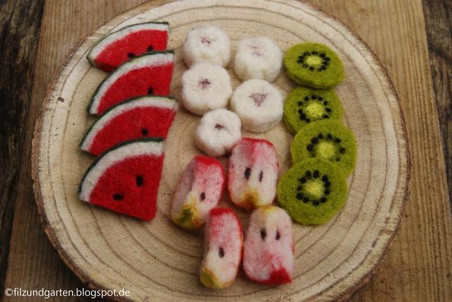 DIY - Gefilztes Obst für die Kinderküche