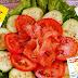 O Mestre de Culinária sugere: Salada de Pepino e de Tomates