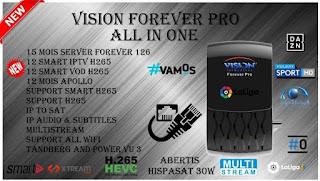 تحديث جديد لجهاز  #VISION_FOREVER_PRO