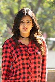 Actress Hebah Patel Stills in Blue Denim Jeans at Nanna Nenu Naa Boyfriends Movie Success Meet  0001.JPG