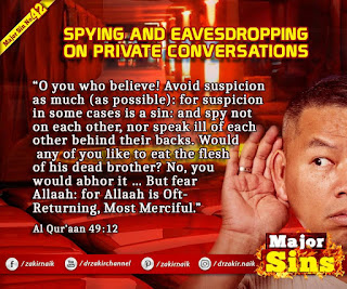 MAJOR SIN. 42.2. SPYING AND EAVESDROPPING ON PRIVATE CONVERSATIONS