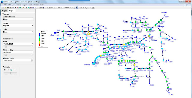 Number SWMM5 has Topological sorting of conveyance network links
