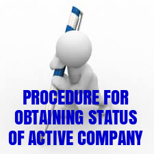 Procedure-obtaining-status-Active-company