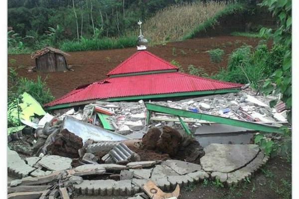 Gempa di Banjarnegara Hancurkan Ratusan Rumah, Penyebab Gempa Menurut Al Qur`an