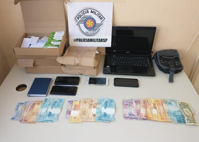 Três colombianos são detidos por suspeita de agiotagem