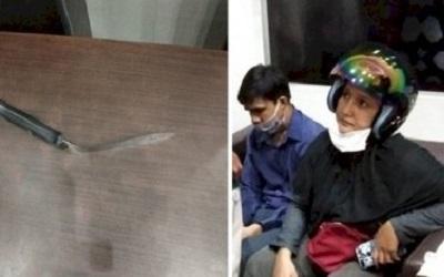 Pisau Jemaah Malah Bengkok Saat Tusuk Imam Shalat di Riau, Karomah?