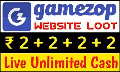 GameZop Website Loot