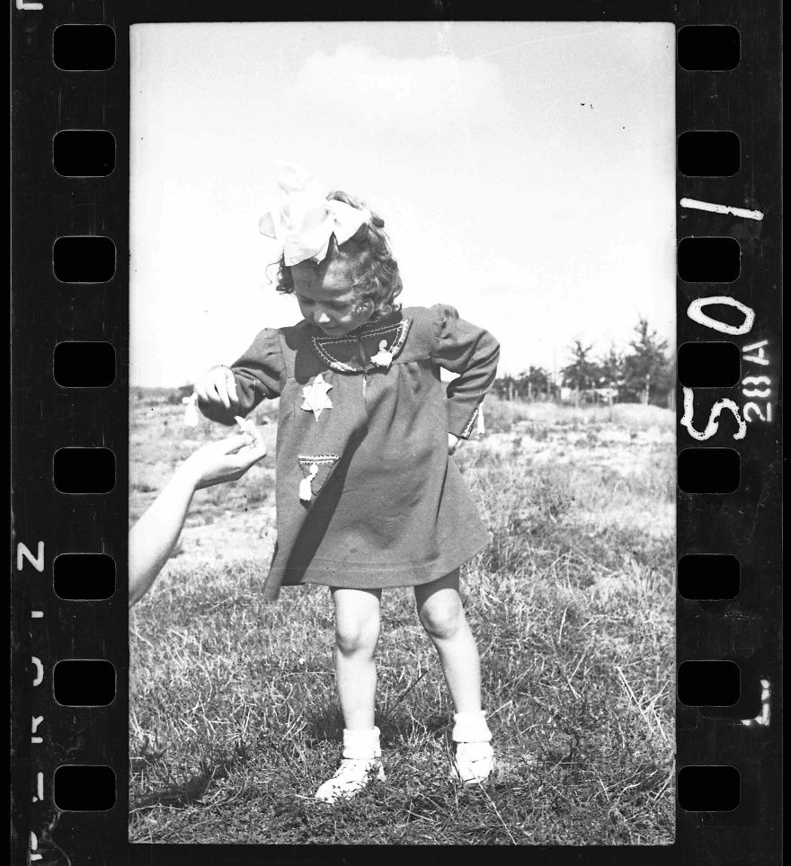 These 32 Pictures Had Been Buried For Years. The Reason Is Heart-Breaking - 1940-1944: Young Girl