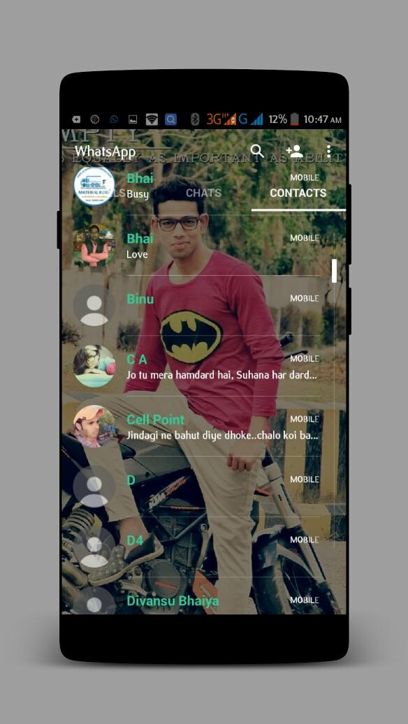 GB WhatsApp Transparent 4.65 Latest Version Download Now