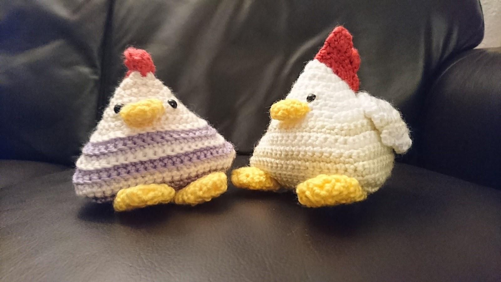 Panda can crochet: Coo-ya the chicken