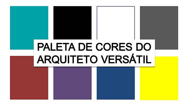Paleta de Cores do Arquiteto Versátil