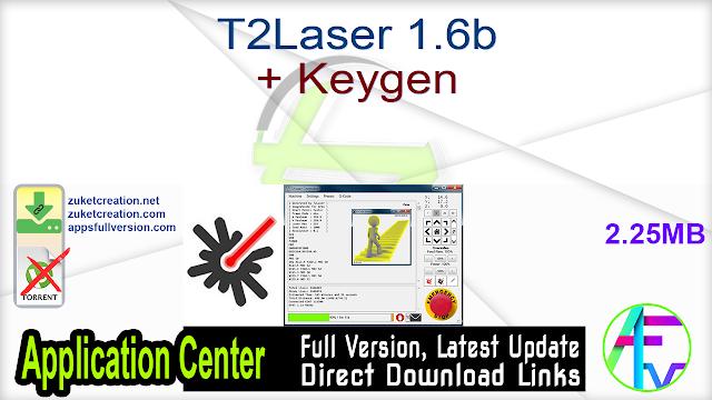 T2Laser 1.6b + Keygen