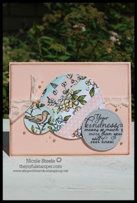 bird ballad designer series paper painted harvest stampin up handmade cards nicole steele the joyful stamper independent stampin' up! demonstrator